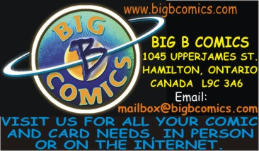 Big B Comics  serving Hamilton's comic community as well as the internet