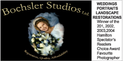 Bochsler Studios                                                       serving the wedding and portrait needs for over 60 years