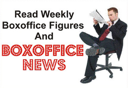 I-reviewmovies boxoffice news and figures for most recent week.
